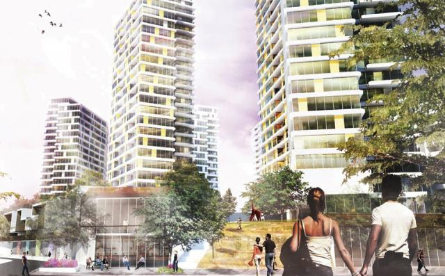 Harmony Village competition entry from RAW Design and The Planning Partnership