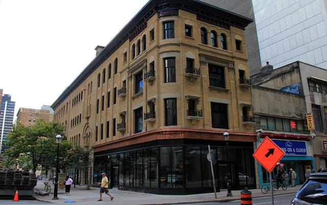 The Dineen Building in Toronto by Commercial Realty Group, George Robb, Empire