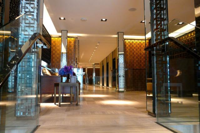 Hall outside Café Boulud at Toronto's new Four Seasons, image by Craig White