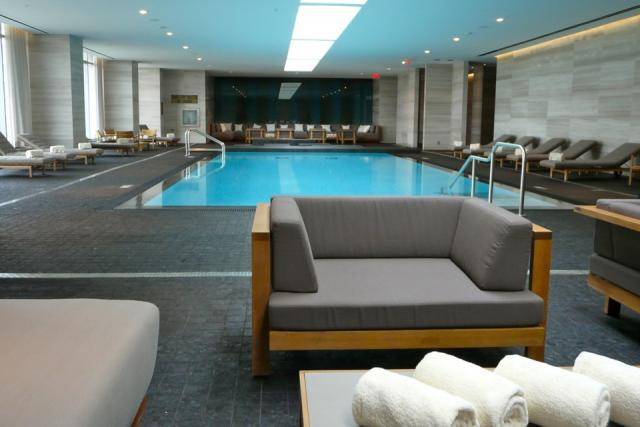 Space to relax by the pool at Toronto's new Four Seasons, image by Craig White