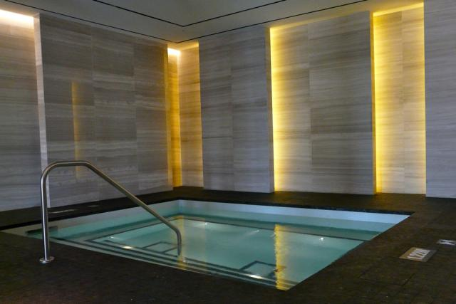 The spa hot tub at Toronto's new Four Seasons, image by Craig White