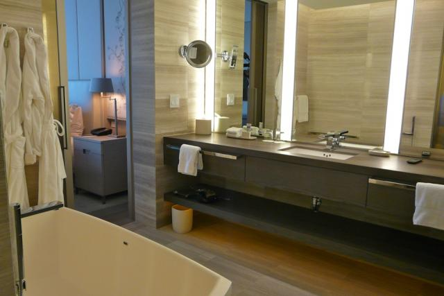 Bathroom in a suite at Toronto's new Four Seasons, image by Craig White