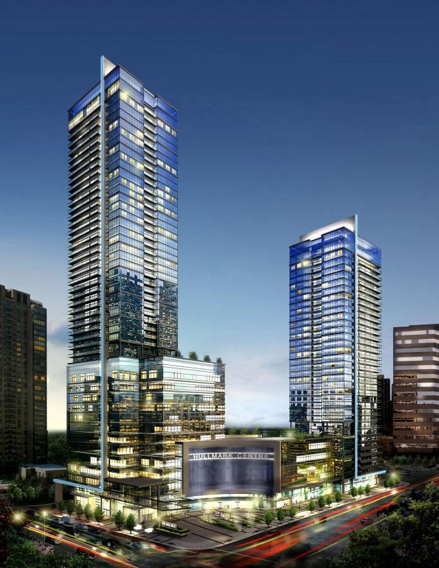 Hullmark Centre, Toronto Condos, Tridel, Hullmark Developments, Kirkor Architect
