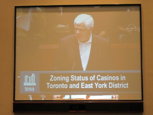 Peter Tabuns MPP Toronto Council casino