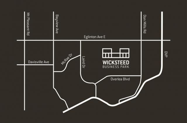 Wicksteed Business Park location, image courtesy of The Rockport Group