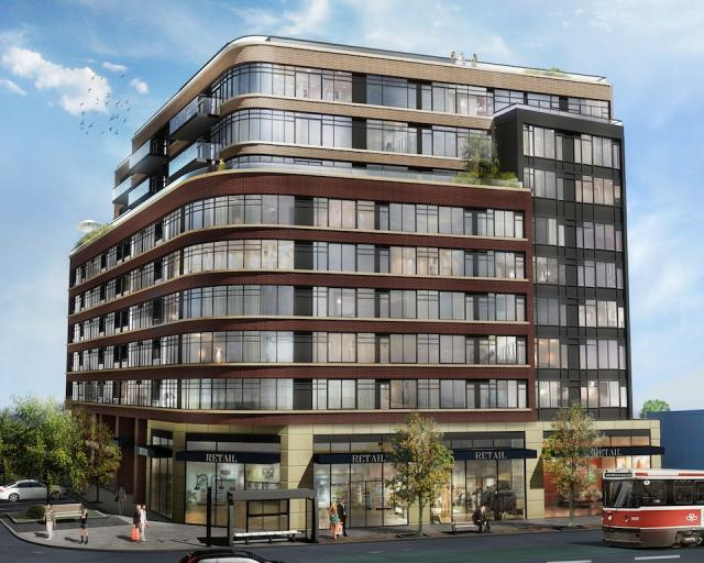 Rendering of Eleven Superior condos by Davies Smith Developments, Toronto