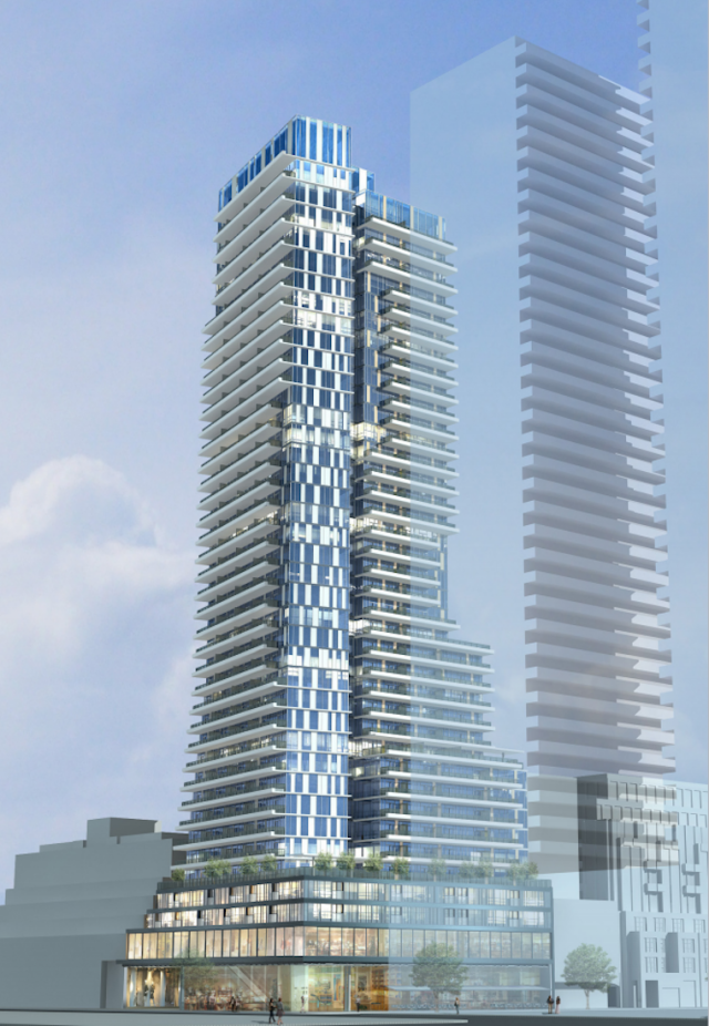 140 Yorkville in Toronto by Empire Communities with Zeidler Partnership