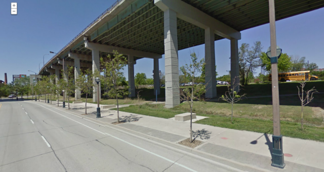 Fort York Boulevard, Google Streetview