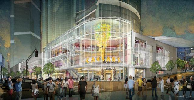 Caesars International vision for a casino in Toronto
