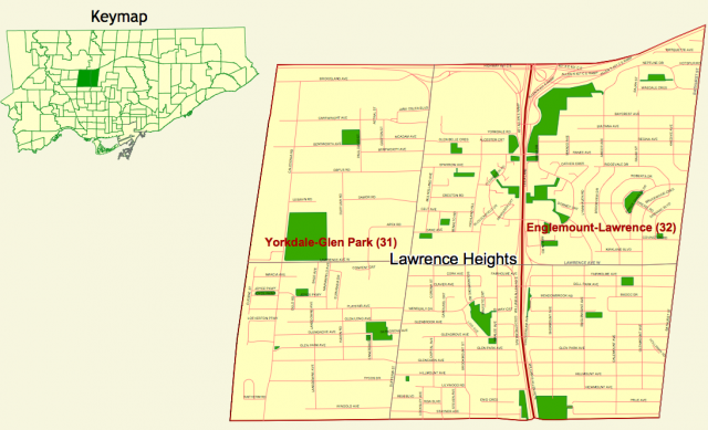 Lawrence Heights Revitalization, Priority Neighbourhood, City of Toronto, TCHC