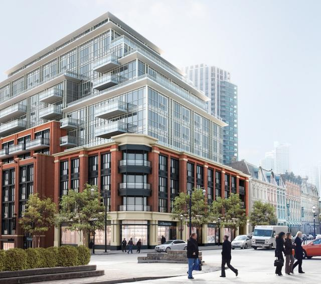 The Bercy, Toronto Condos, Concert Properties, Young & Wright/IBI Group, ERA