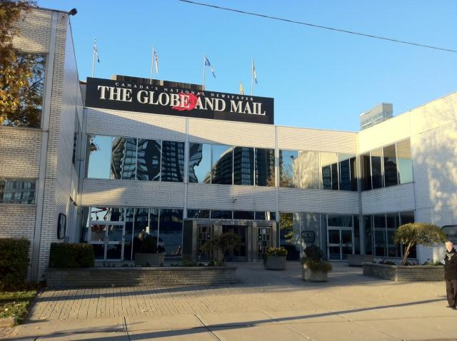 Globe and Mail head office, Toronto, Front Street