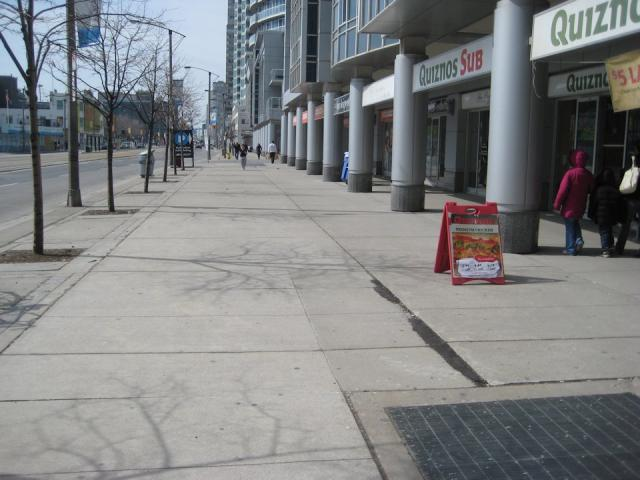 Current north side of Queens Quay WATERFRONToronto waterfront Toronto