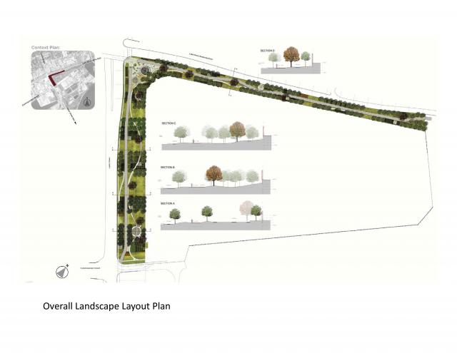 Plan of Brown + Storey Architects' final scheme, image courtesy of the TTC