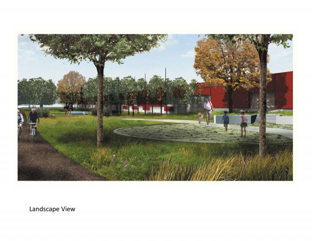Brown + Storey's revised scheme, image courtesy of the Toronto Transit Comission