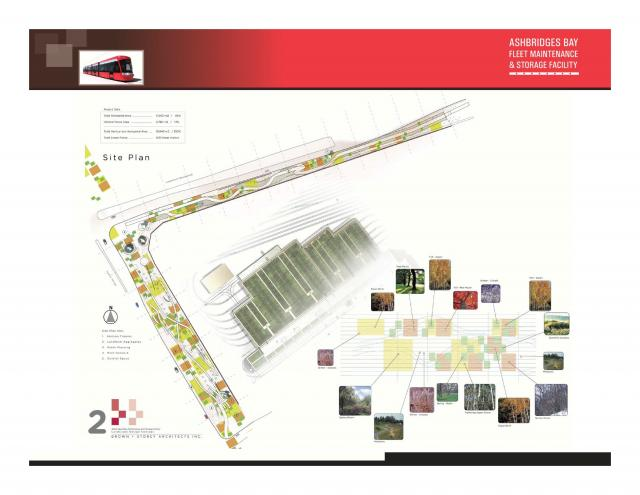 Plan of Brown + Storey Architects' winning scheme, image courtesy of the TTC