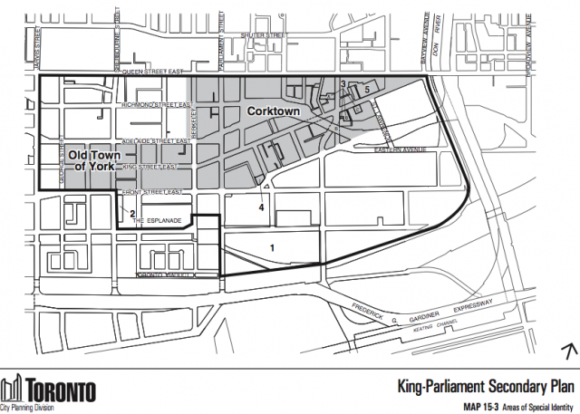 King-Parliament Secondary Plan, City of Toronto, City Planning, The King East