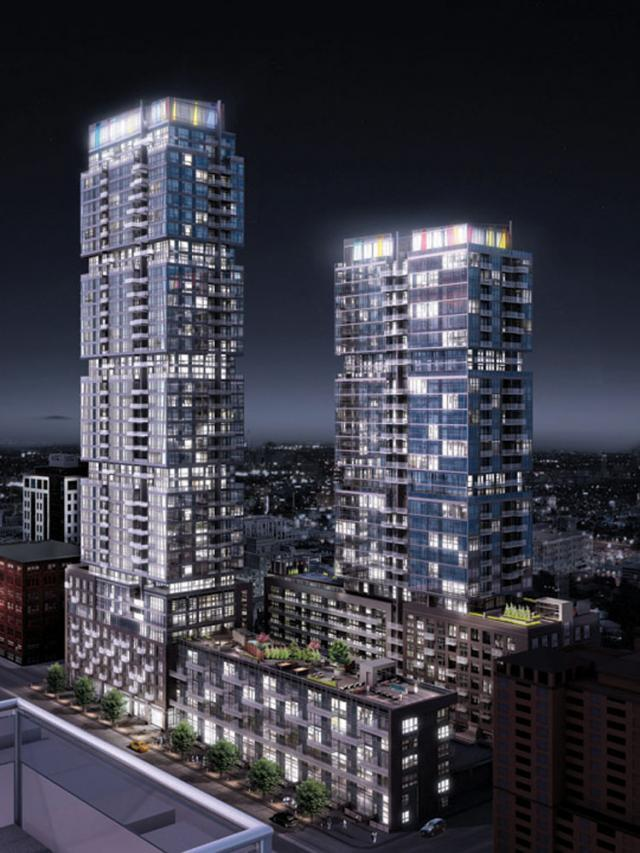 Studio & Studio2 on Richmond, Toronto Condos, Aspen Ridge Homes, Quadrangle Arch