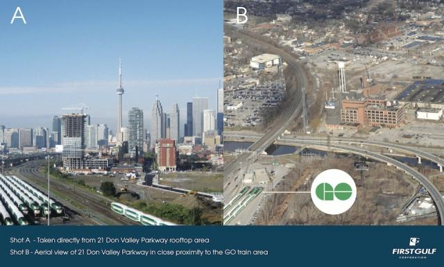 21 Don Roadway's proximity to GO Train services