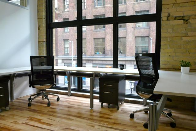 IQ Office Suites private office space in the Dineen Building, Toronto