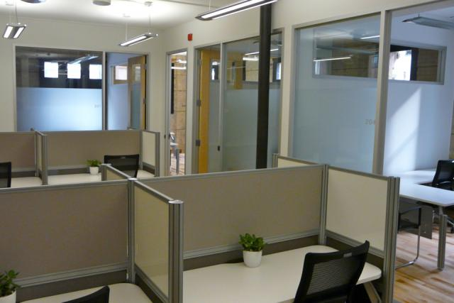 IQ Office Suites dedicated desk space in the Dineen Building, Toronto
