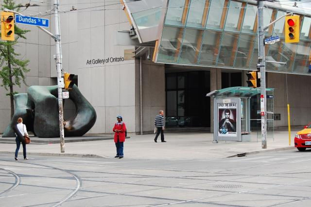 Dundas and McCaul, Art Gallery of Ontario, Toronto, 2012