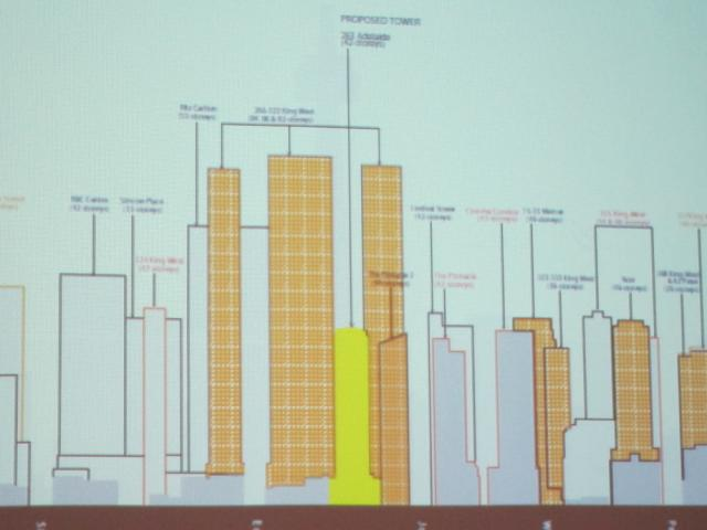 263 Adelaide West Toronto cross section render