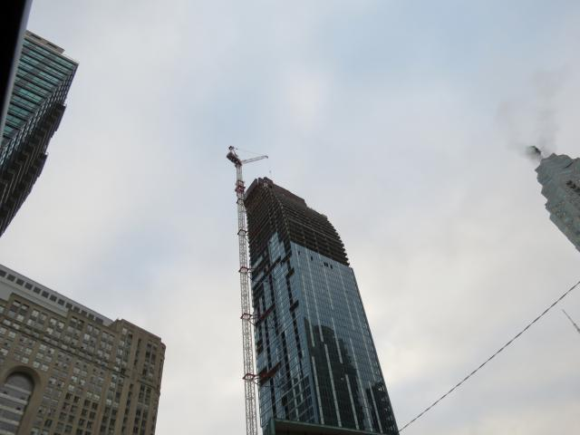L Tower Under Construction