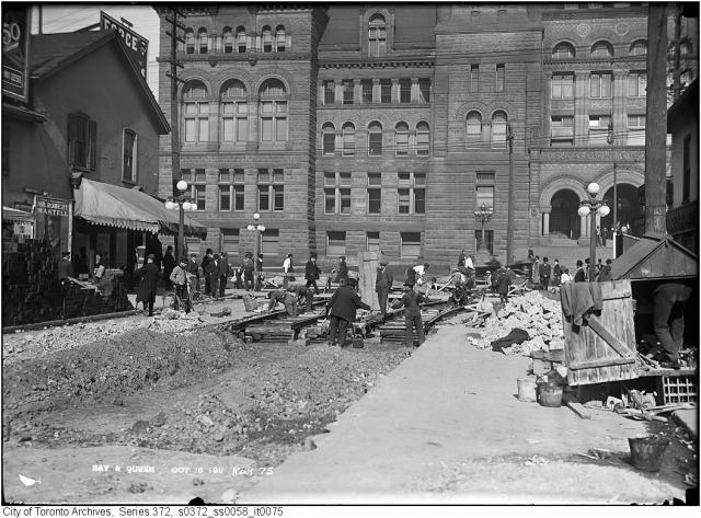 Old City Hall, Bay and Queen, Toronto, 1911