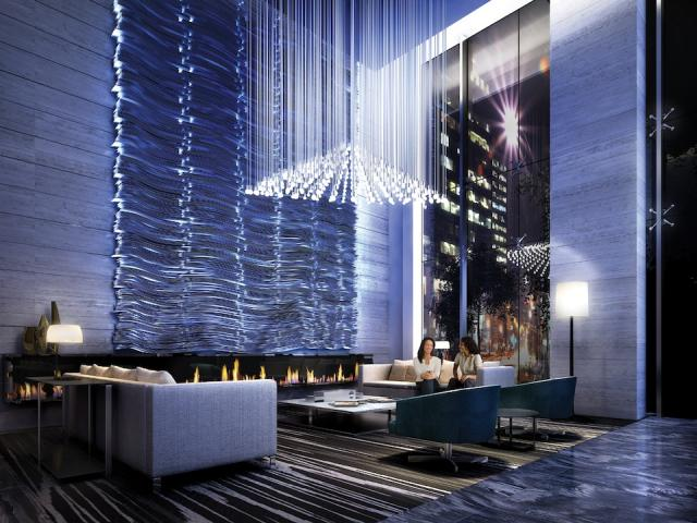 Lobby of King Blue Condominiums, Toronto