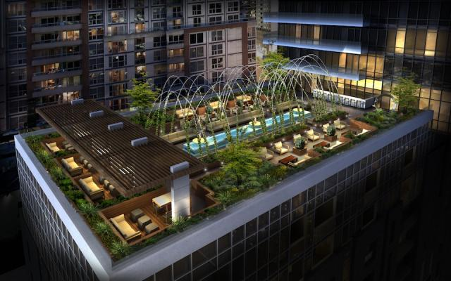Terrace at King Blue Condominiums, Toronto