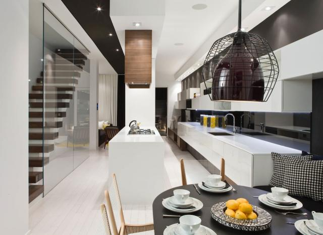 Trinity-Bellwoods Town + Homes, interiors by Cecconi Simone for Urban Capital an