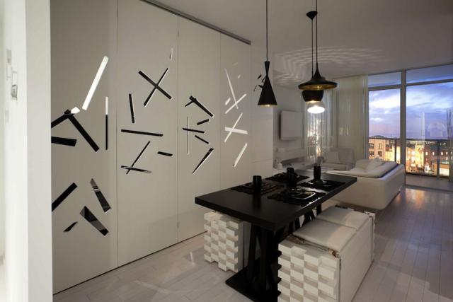 Tableau with the Kitchen hidden, by Cecconi Simone for Urban Capital