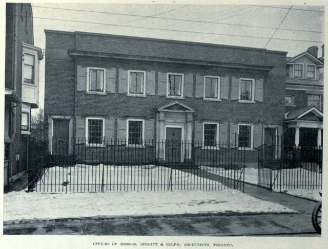1162 Bay St, Sproatt & Rolph Architects, Toronto, circa 1919