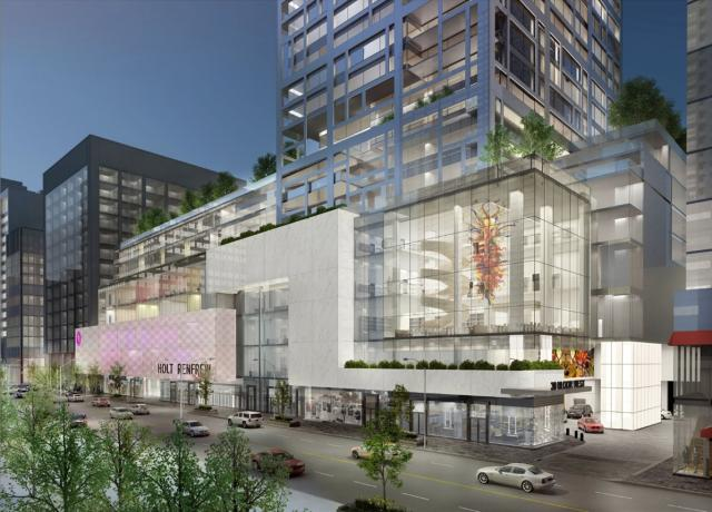 Morguard's 50 Bloor West redevelopment, image courtesy of Pellow + Associates Ar