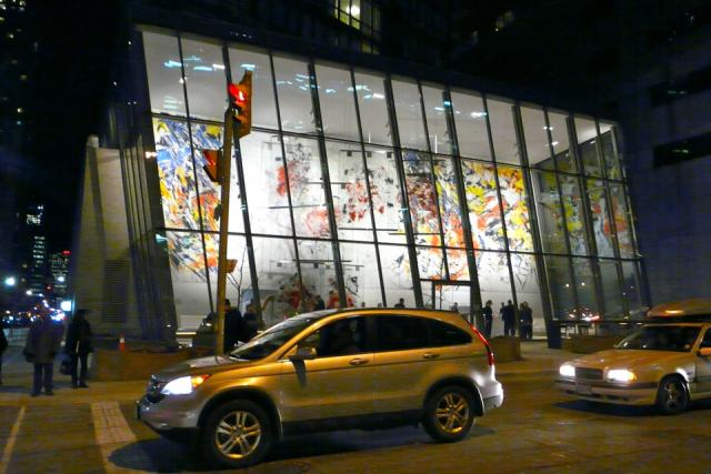 'Glass Memory' by Sandro Martini brightens the corner of Bay and Grosvenor, imag