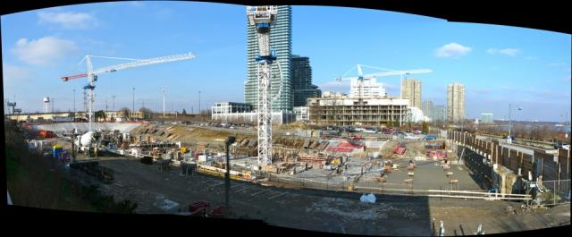 Work progresses on Beaverhall and Graywood's Ocean Club condos, Toronto