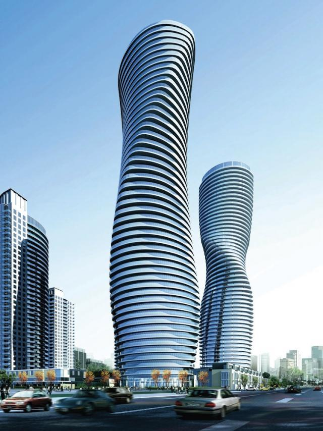 Absolute Towers, rendering courtesy of Cityzen, Fernbrook Homes
