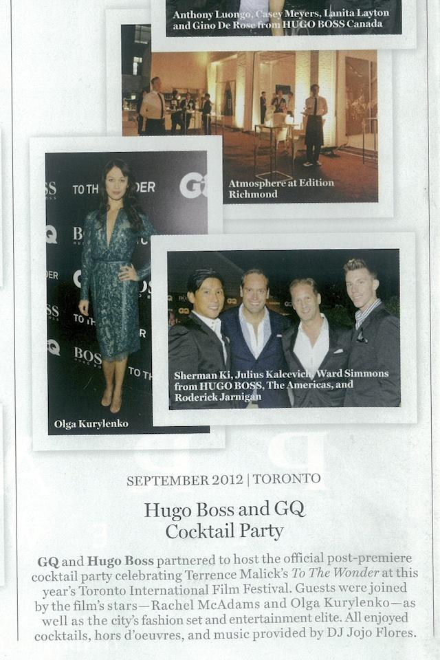 GQ checks out the latest parties, Dec 2012