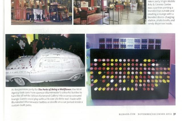 BizBash checks out the latest parties, Nov/Dec 2012