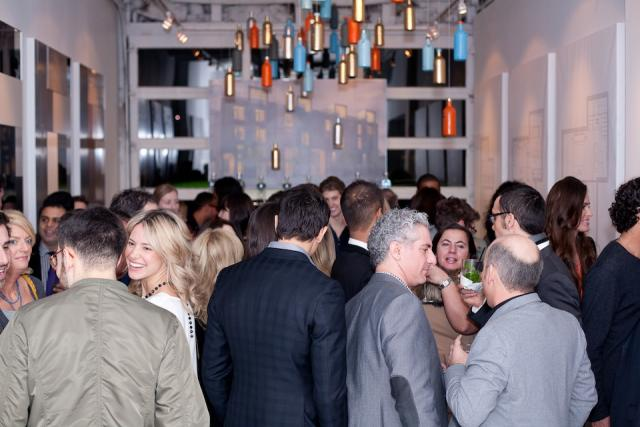 Opening night Vernissage party at Edition Richmond