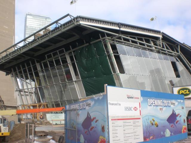 Ripley's Aquarium Under Construction