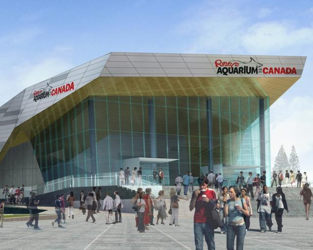 Ripley's Aquarium of Canada Rendering