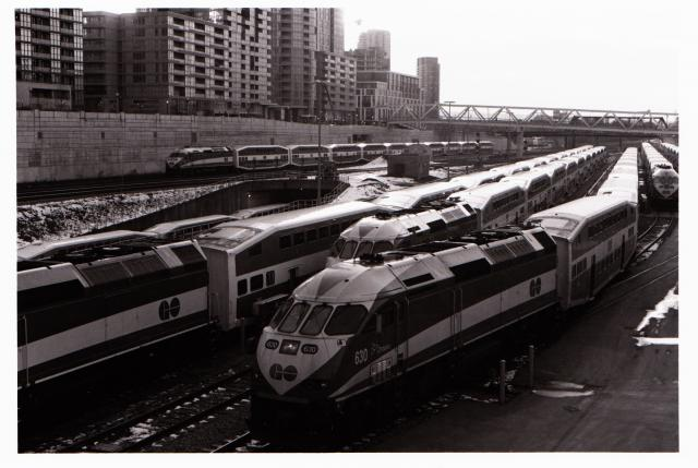 GO Trains, Toronto