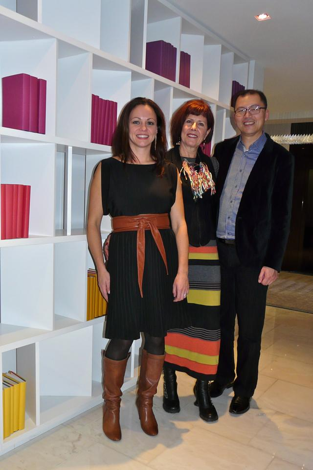 Suzanne Bettencourt, Janice Lindsay, and Brian Fong, iamge by Craig White