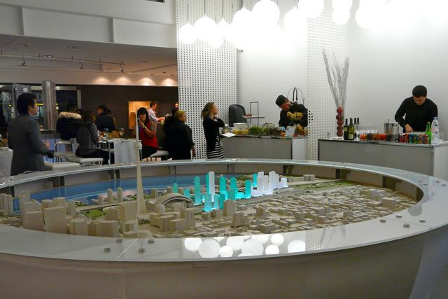 In the Concord CityPlace Presentation Centre, image by Craig White