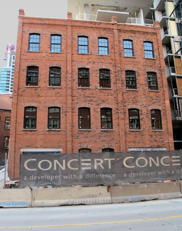 The Berczy Concert Properties Young+Wright IBI Group ERA Architects Toronto