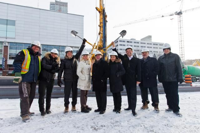 Ground Breaking at Picasso