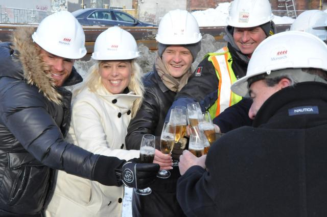 Ground Breaking at Picasso Condos