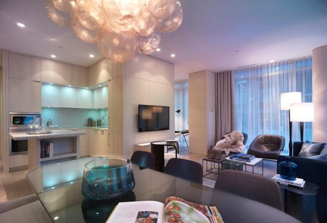 King Blue Condominiums model suite Easton's Group The Remington Group Toronto